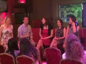 Our presenters (from left to right):  Sandra Pike, Alex Damian, Kathryn Cooper, Kristin Fields and Debbie Wong