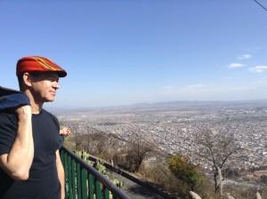 Overlooking the city of Salta (Northern Argentina)