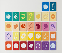 Tide Project, Things to be Forgotten, Australia, 2010, hand cut paint swatch cards, 83.3 x 85.5 cm
