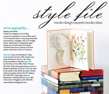 <p><strong>Home Beautiful Magazine</strong><br /> 'style file'</p>