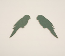 of a Feather, 2007, hand cut book, 42 x 56 x 6 cm