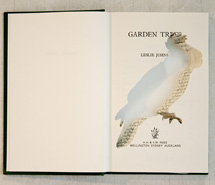 Garden Trees/Gang Gang Cockatoo, 2009, hand carved found book, created as part of a 12 piece book series for Emirates, Wolgan Valley Spa & Resort