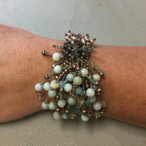 Bracelet Design by Student | Class by Theresa Hanada