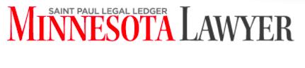 logo from Minnesota Lawyer magazine