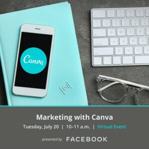2021 Marketing with CANVA @ Via Zoom Online
