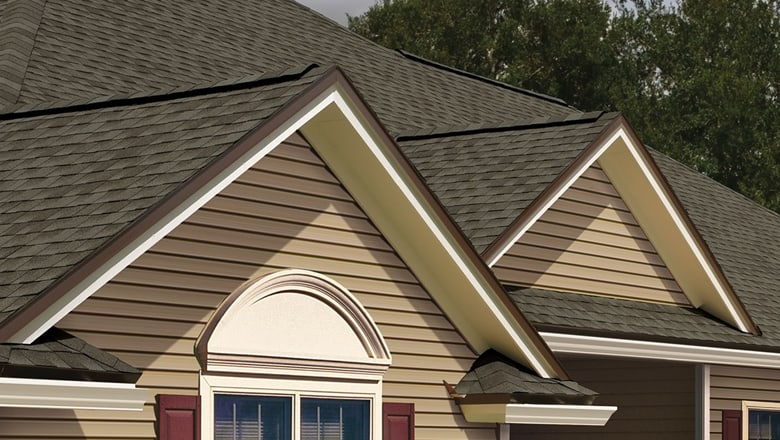 centennial roof with brown shingle