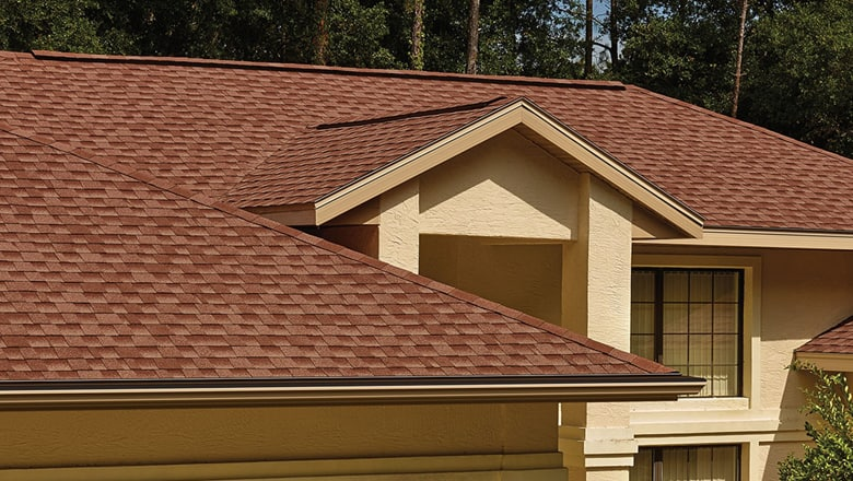 lower sloping residential roofing projects