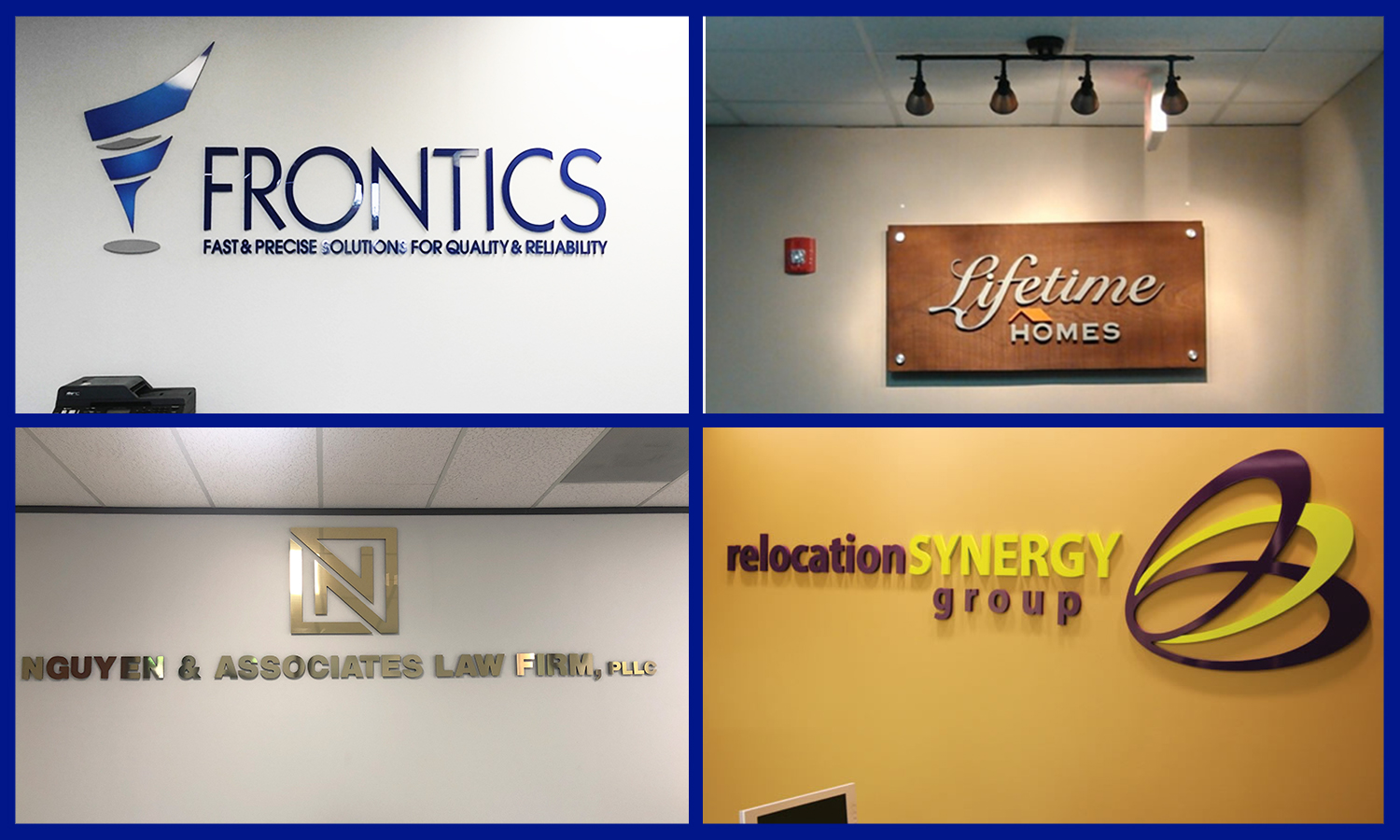 <h3>Lobby Signage</h3><p>Enhance your business with our custom-designed sign in your lobby. At 1 Source Signs, we use the finest quality materials for our signage.</p>