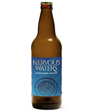 Nervous Waters Burbon Stout Beer