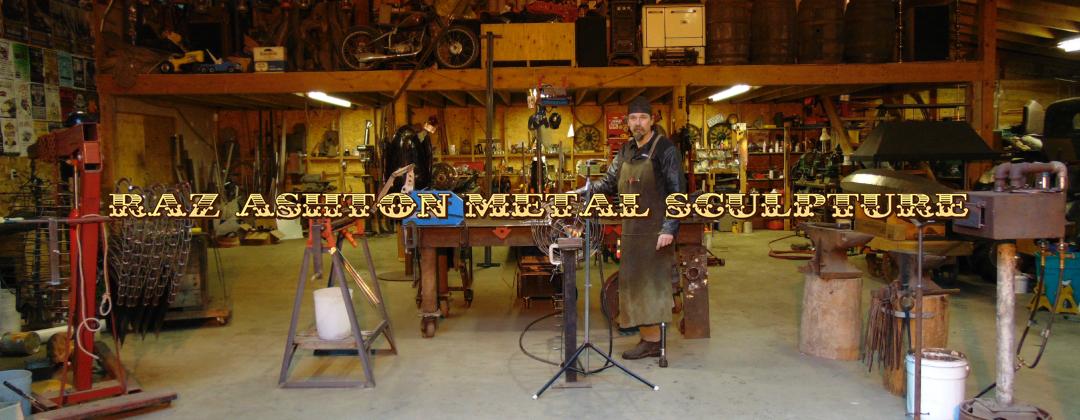 Metal Sculpture Artist Raz Ashton