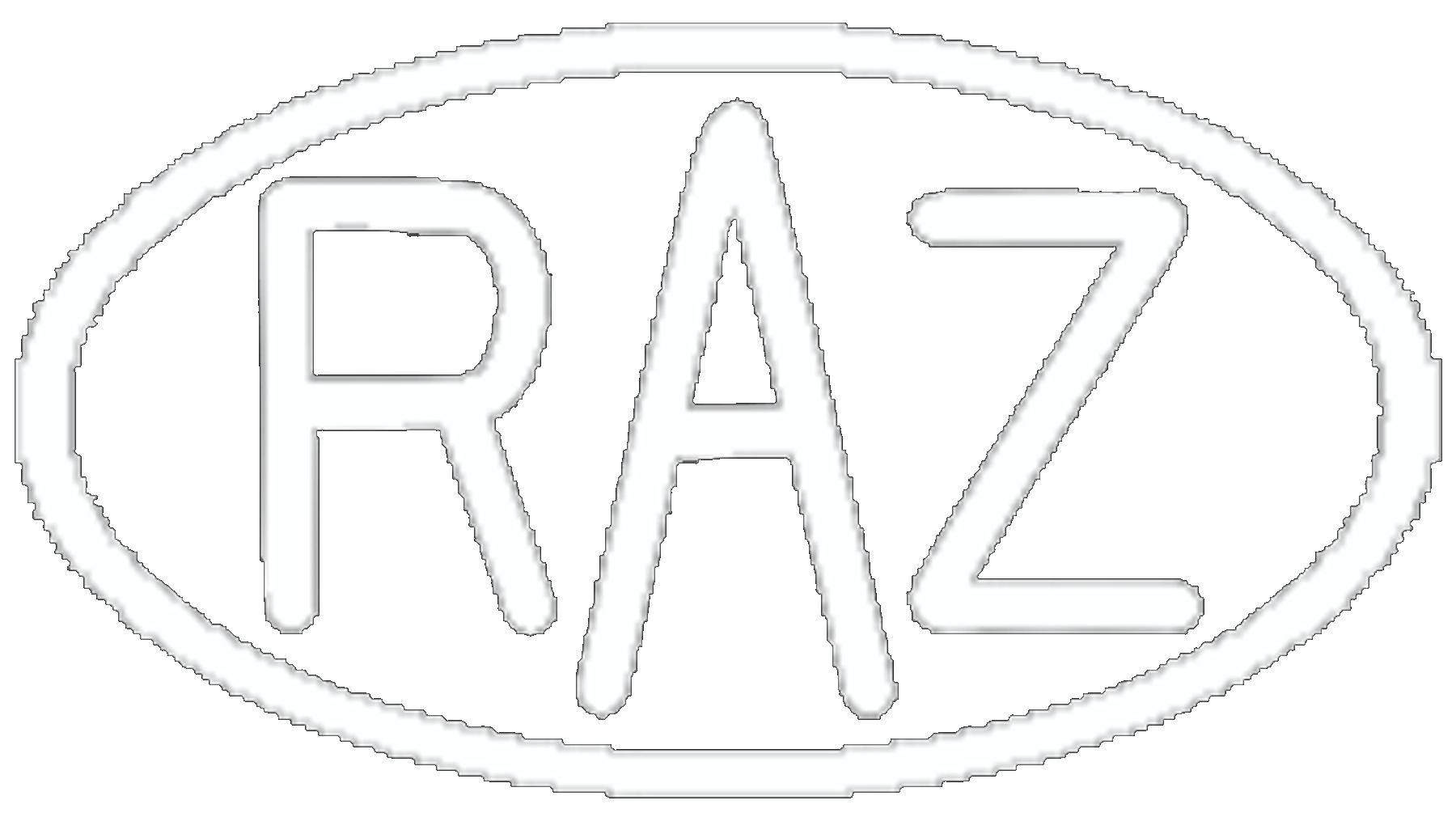 RAZ ASHTON Metal Sculpture Logo
