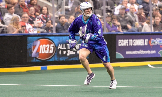 Graeme Hossack named NLL Defensive Player of the Year