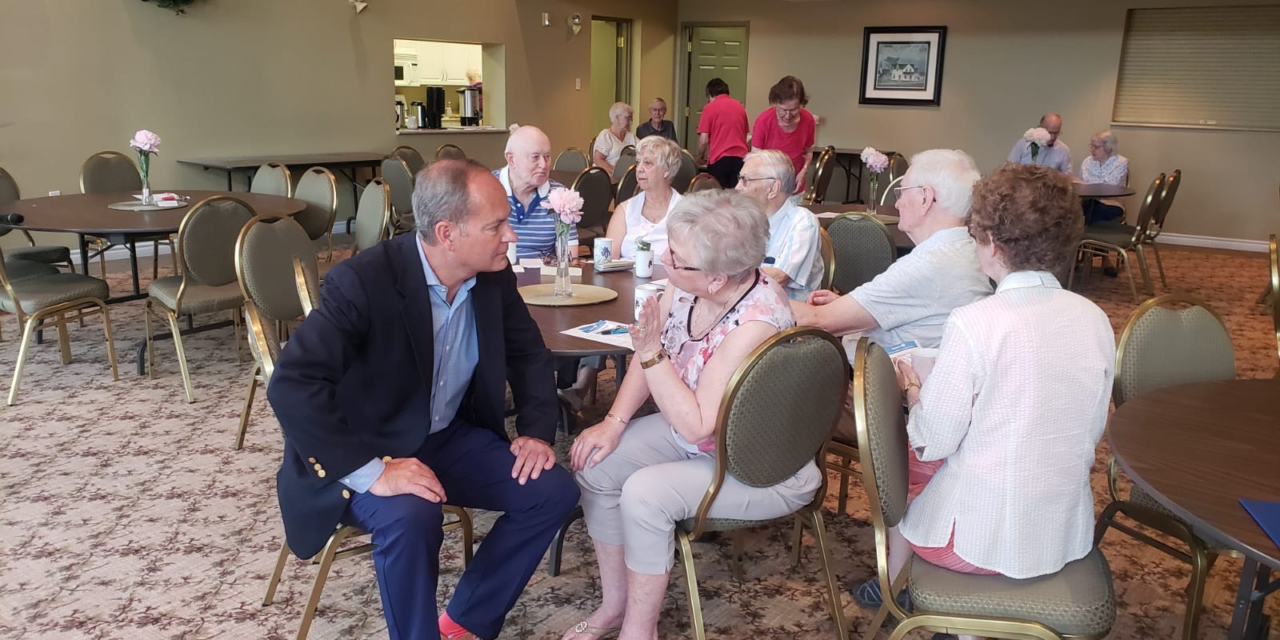 Feedback to support a new government-wide Seniors Strategy in Uxbridge