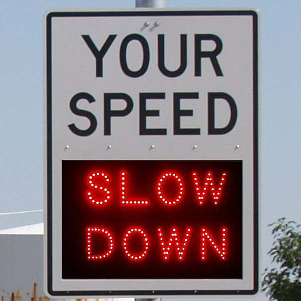 Watch your speed: radar feedback signs are coming to your community
