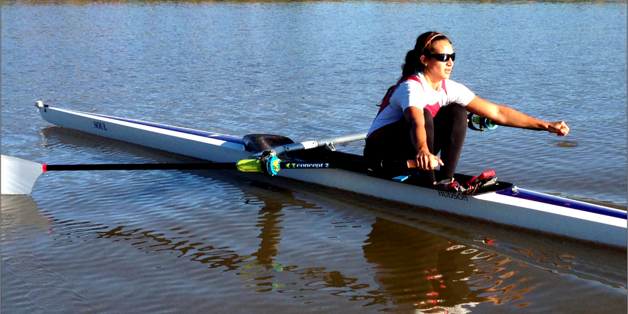 National and World Champion Rower, Jaclyn Stelmaszyk, sets her sights on the 2020 Olympics