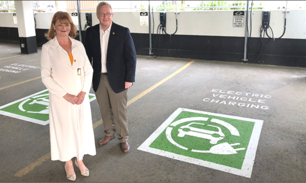 Durham Region installs electric vehicle charging station at its corporate headquarters