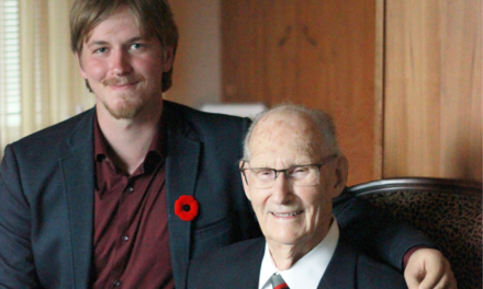 Sacrifice and Legacy: two amputees share a special bond