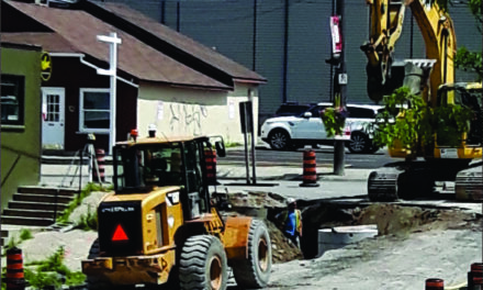 Brock Street now closed until Spring for culvert construction
