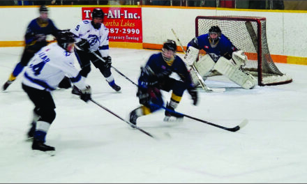 Mariposa Lightning work overtime for series lead in OMHA Finals