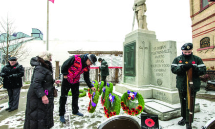 Honour our veterans on November 8th in Elgin Park