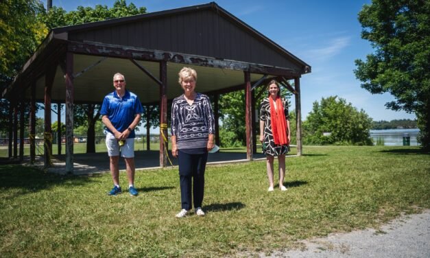Ontario and Canada Funding New Port Perry Picnic Shelter