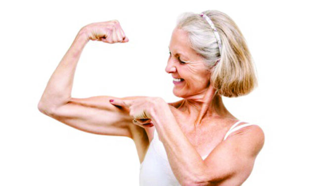 Muscle Mass and Aging: Use it, don't lose it!