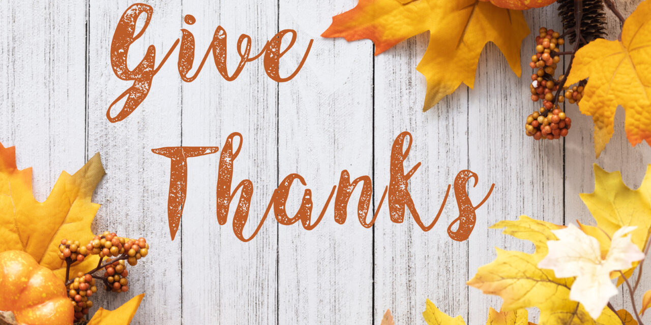 SEason of thanksgiving – what goes around comes around remember