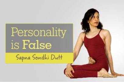 Personality is False