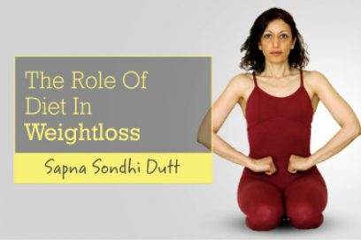 The Role of Diet in Weightloss