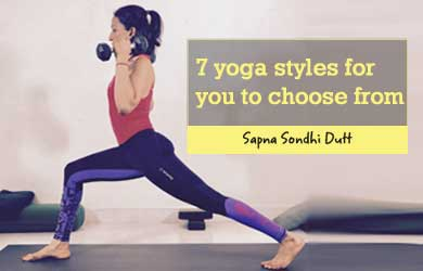7 Yoga Styles, For You, to Choose From [Infographic]