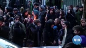 伊朗的抗议民众