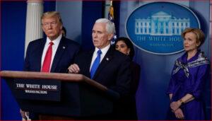 美国副总统彭斯和川普