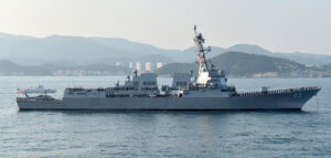 美国海军马斯廷号神盾驱逐舰(军舰)