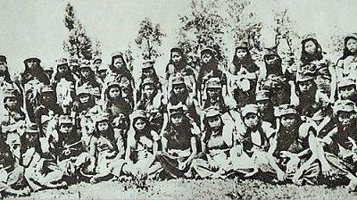 西路军败亡——尸体填满万人坑,妇女团惨遭凌辱。