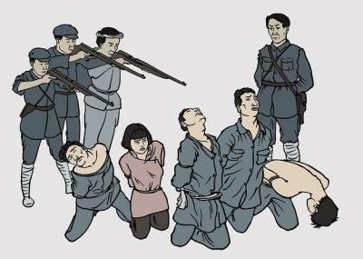 """毛泽东发起""""肃反"""" 10万红军惨死自己人屠刀下"""