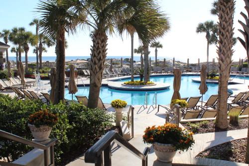 Beautiful Ritz pool