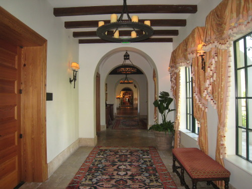 Cloister corridor