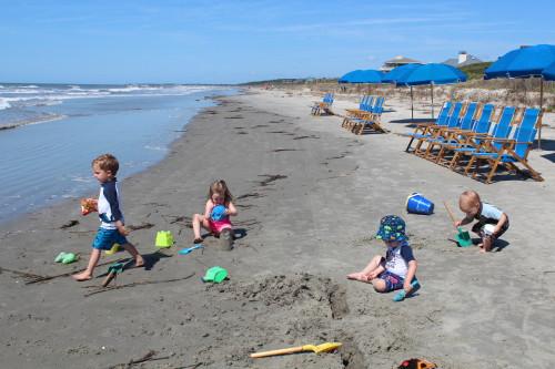 Kiawah's private beach!