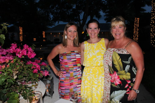 Me, Louisa and Stephanie at dinner at Parallel 23