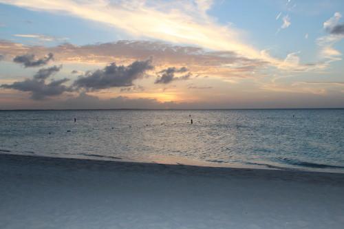 A perfect Grace Bay sunset