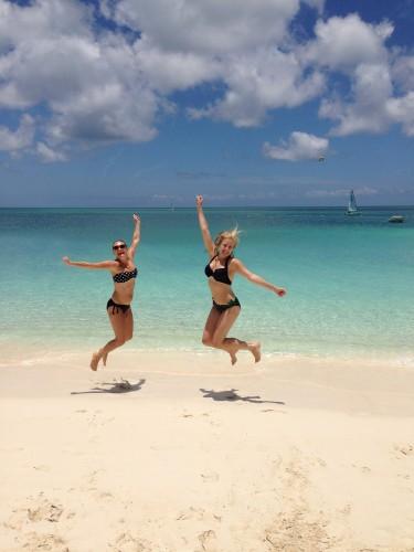 Turks & Caicos makes us happy!