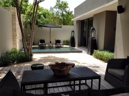 Garden pool villa at Nizuc