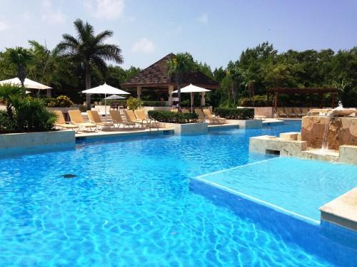 Fairmont Mayakoba family pool