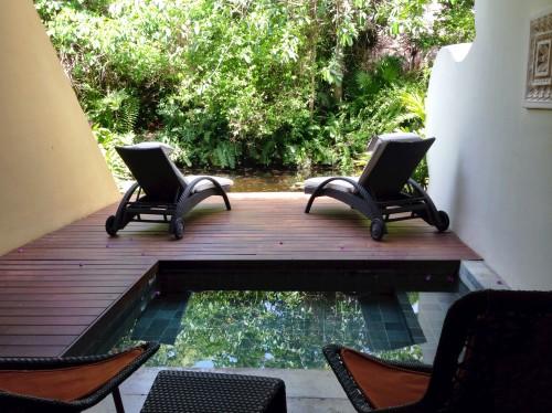 Jungle views from a Grand Velas Zen room