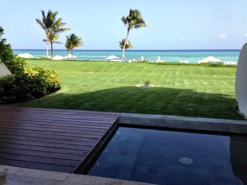 Ocean views from a Grand Velas Grand Class suite