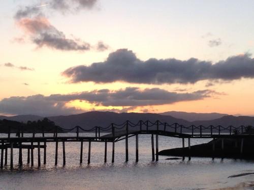 Sunset at Ponta Dos Ganchos