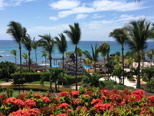 Four Seasons Punta Mita view upon entering the lobby