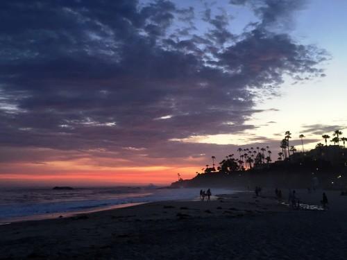 An incredible Laguna Beach sunset