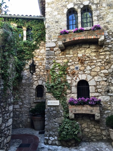 The charming village of Eze