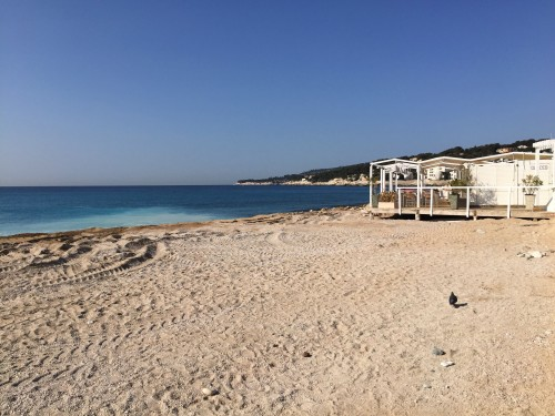 Cassis beach, nice and quiet in spring